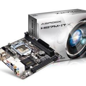 Mainboard-Socket-1150 ASRock H87M-ITX Intel H87 2xDDR3 Socket 1150 mITX