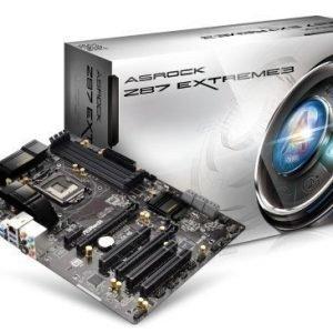 Mainboard-Socket-1150 ASRock Z87 Extreme 3 Intel Z87 4xDDR3 SLI CrossFireX Socket 1150 ATX
