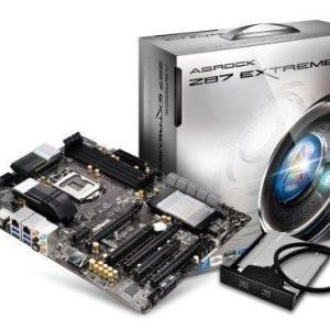 Mainboard-Socket-1150 ASRock Z87 Extreme 6 Intel Z87 4xDDR3 SLI CrossFireX Socket 1150 ATX