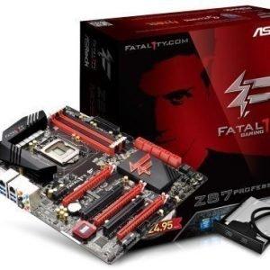 Mainboard-Socket-1150 ASRock Z87 Professional Intel Z87 4xDDR3 SLI CrossFireX Socket 1150 ATX