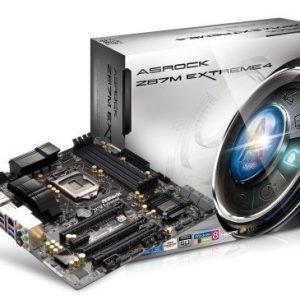 Mainboard-Socket-1150 ASRock Z87M Extreme 4 Intel Z87 4xDDR3 SLI CrossFireX Socket 1150 mATX