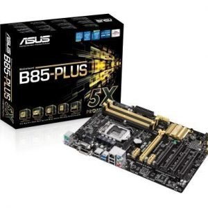 Mainboard-Socket-1150 Asus B85-PLUS Intel B85 4xDDR3 CrossFireX Socket 1150 ATX
