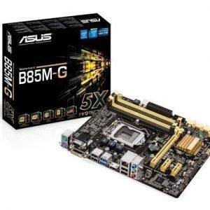 Mainboard-Socket-1150 Asus B85M-G Intel B85 4xDDR3 Socket 1150 mATX