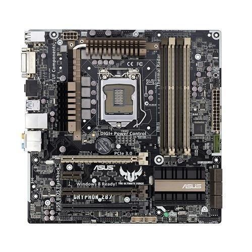 Mainboard-Socket-1150 Asus Gryphon Z87 Intel Z87 4xDDR3 SLI CrossFireX Socket 1150 mATX