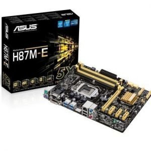 Mainboard-Socket-1150 Asus H87M-E Intel H87 4xDDR3 Socket 1150 mATX