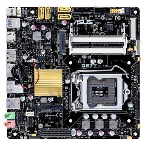 Mainboard-Socket-1150 Asus Q87T Intel Q87 2xSO-DIMM DDR3 Socket 1150 mITX
