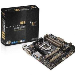 Mainboard-Socket-1150 Asus VANGUARD B85 Intel B85 4xDDR3 CrossFireX Socket 1150 mATX