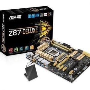 Mainboard-Socket-1150 Asus Z87-DELUXE Intel Z87 4xDDR3 SLI CrossFireX Socket 1150 ATX