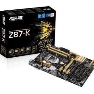 Mainboard-Socket-1150 Asus Z87-K Intel Z87 4xDDR3 CrossFireX Socket 1150 ATX