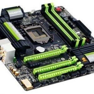 Mainboard-Socket-1150 Gigabyte G1.Sniper M5 Intel Z87 4xDDR3 SLI CrossFireX Socket 1150 mATX