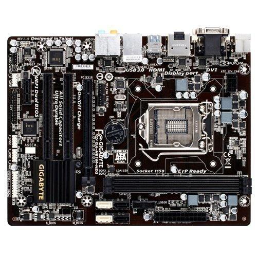 Mainboard-Socket-1150 Gigabyte GA-H81M-HD3 Intel H81 2xDDR3 Socket 1150 mATX