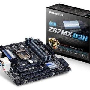 Mainboard-Socket-1150 Gigabyte GA-Z87MX-D3H Intel Z87 4xDDR3 SLI CrossFireX Socket 1150 mATX