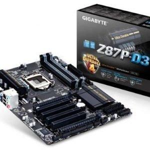 Mainboard-Socket-1150 Gigabyte GA-Z87P-D3 Intel Z87 4xDDR3 CrossFireX Socket 1150 ATX