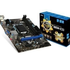 Mainboard-Socket-1150 MSI B85M-E33 Intel B85 2xDDR3 Socket 1150 mATX