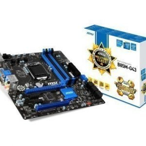 Mainboard-Socket-1150 MSI B85M-G43 Intel B85 4xDDR3 CrossFireX Socket 1150 mATX