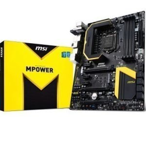 Mainboard-Socket-1150 MSI Z87 MPOWER Intel Z87 4xDDR3 SLI CrossFireX Socket 1150 ATX