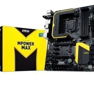 Mainboard-Socket-1150 MSI Z87 MPOWER MAX Intel Z87 4xDDR3 SLI CrossFireX Socket 1150 ATX