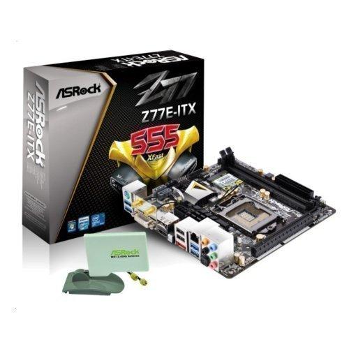 Mainboard-Socket-1155 ASRock Z77E-ITX Intel Z77 2xDDR3 Socket 1155 mITX