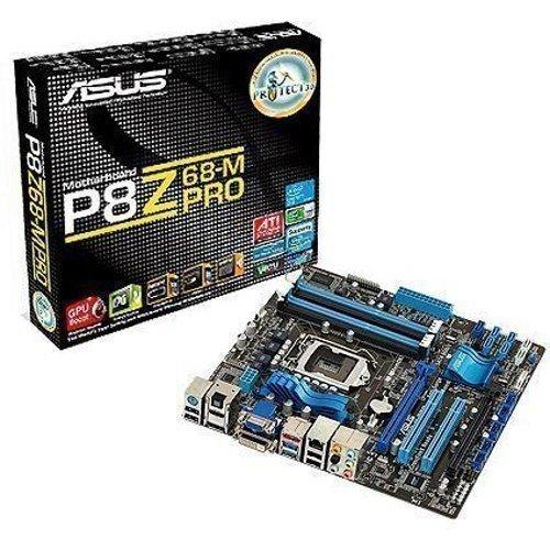 Mainboard-Socket-1155 Asus P8Z68-M PRO Z68 OBS FYNDVARA