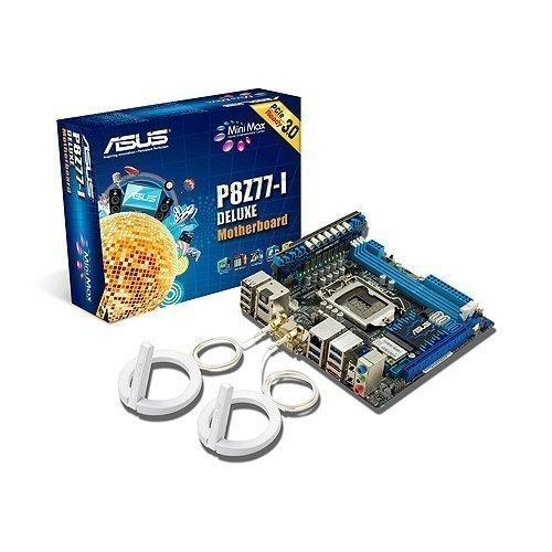 Mainboard-Socket-1155 Asus P8Z77-I Deluxe Intel Z77 2xDDR3 WiFi Socket 1155 mITX