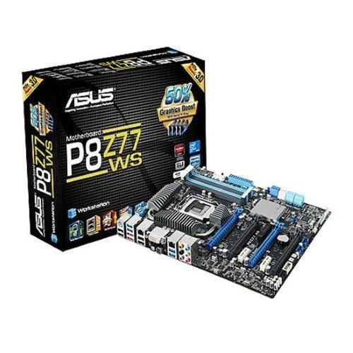 Mainboard-Socket-1155 Asus P8Z77 WS Intel Z77 4xDDR3 Socket 1155 ATX