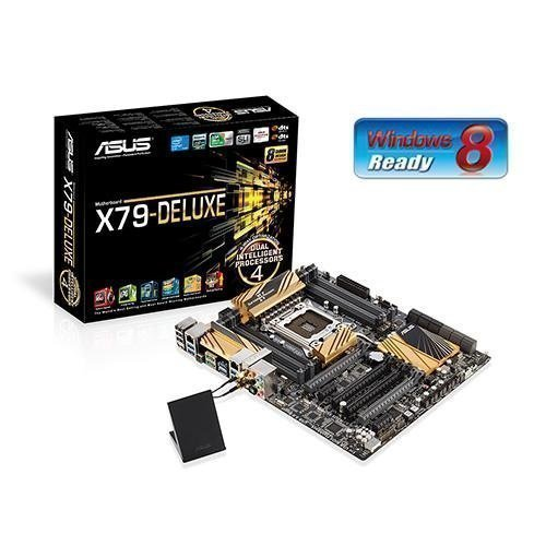 Mainboard-Socket-2011 Asus X79-DELUXE Intel X79 8xDDR3 SLI CrossFireX Socket 2011 ATX