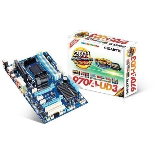 Mainboard-Socket-AM3 Gigabyte GA-970A-UD3 AM3+