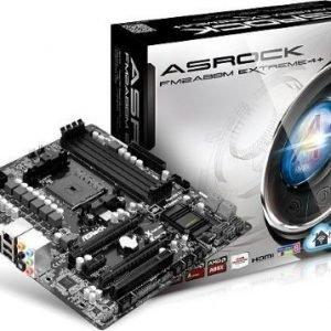 Mainboard-Socket-FM2 ASRock FM2A88M EXTREME4+ AMD A88X 4xDDR3 CrossFireX Socket FM2 mATX