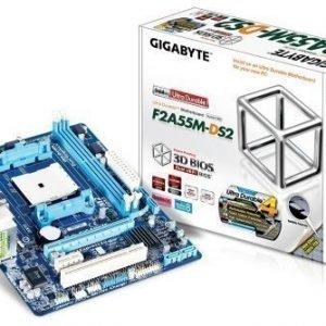 Mainboard-Socket-FM2 Gigabyte GA-F2A55M-DS2 AMD A55 2xDDR3 Socket FM2 mATX