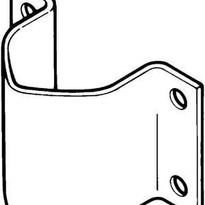 Mastokiinnike galvanoitu 42 mm