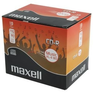 Maxell Music XL-II 80 Audio CD-R 700 Mb