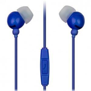 Maxell Plugz Inner Ear Nappikuulokkeet Mikrofonilla Sininen
