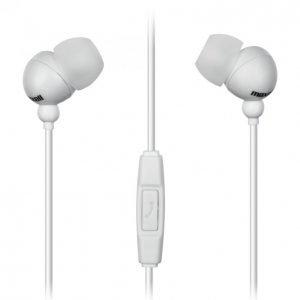 Maxell Plugz Inner Ear Nappikuulokkeet Mikrofonilla Valkoinen