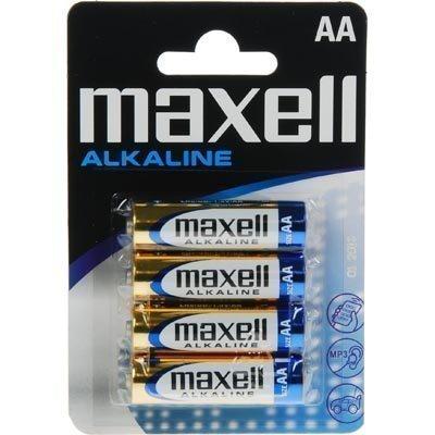 Maxell paristo AA (LR06) Alkaline 1 5V 4-pakkaus