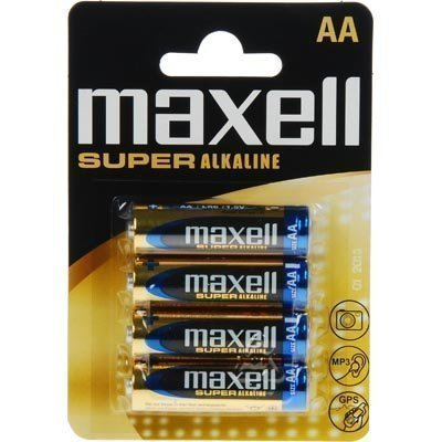 Maxell paristot AA (LR06) Super Alkaline 1 5V 4-pakkaus
