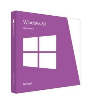 Microsoft Windows 8.1 32-bit/64-bit Finnish DVD