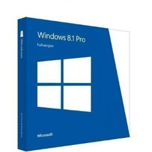 Microsoft Windows Pro 8.1 32-bit/64-bit Norwegian DVD