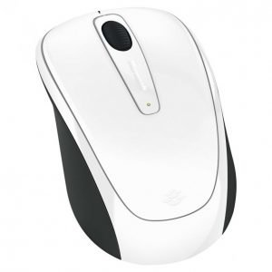 Microsoft Wireless 3500 White Hiiri