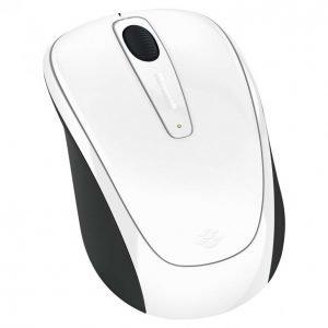 Microsoft Wireless 3500 White Hiiri