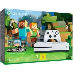 Microsoft Xbox One S 500 Gt + Family Minecraft Edition