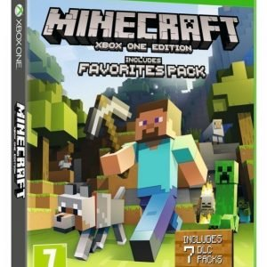 Minecraft Xbox One Edition Favorites Pack