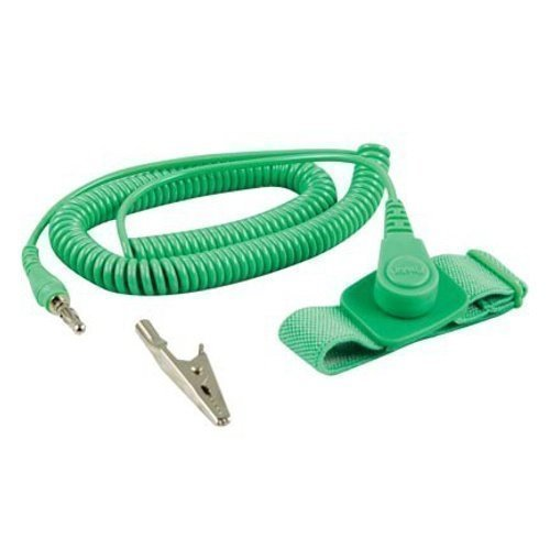 Misc ESD-armband Tyg inkl Spiralkabel
