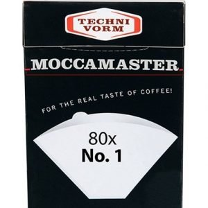 Moccamaster 85090 Suodatinpaperi Cup One Keittimeen