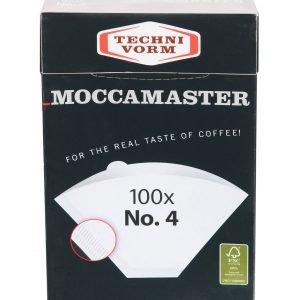 Moccamaster No. 4 Suodatinpussit 100 Kpl
