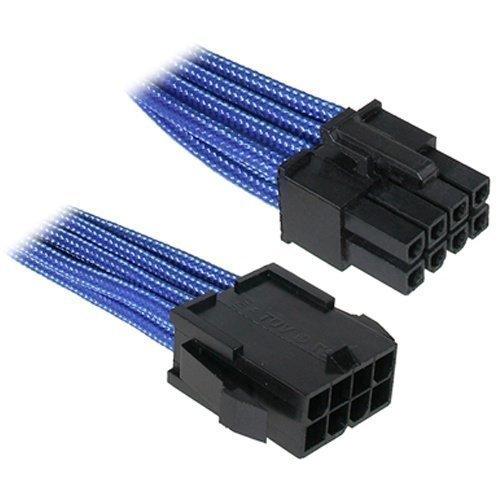 Modding-Acc BitFenix 8-Pin EPS12V Extension 45cm Sleeved Blue/Black