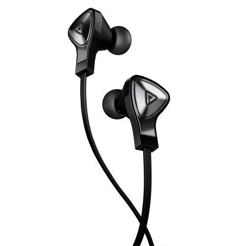 Monster DNA Earphones Black with Satin Chrome In-ear