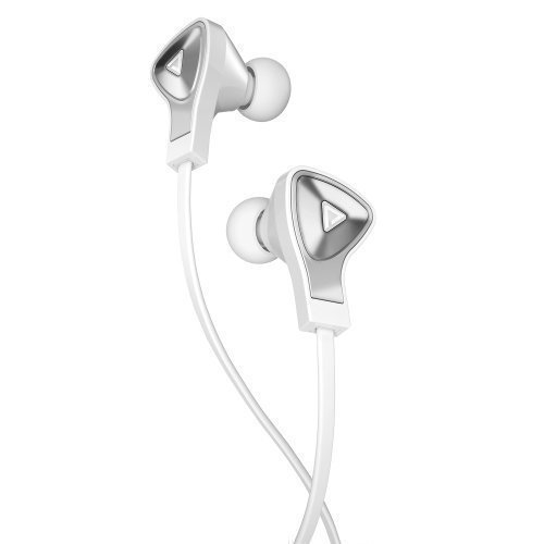 Monster DNA Earphones White with Satin Chrome In-ear