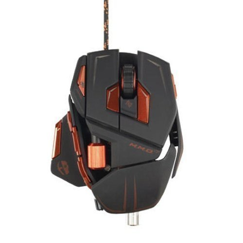 Mouse Mad Catz M.M.O. 7 R.A.T. Gaming Mouse Black