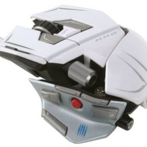 Mouse Mad Catz M.M.O. 7 R.A.T. Gaming Mouse White