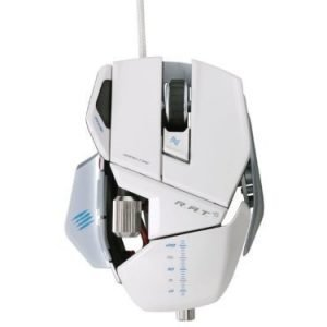 Mouse Mad Catz R.A.T. 5 Gaming Mouse White